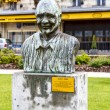 Statue to Quincy Jones, Montreux — Stock Photo #38495657