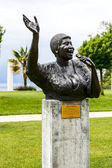 Statue to Aretha Franklin, Montreux — Stock Photo