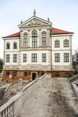 Fryderyk Chopin Museum in Ostrogski Palace — Stock Photo