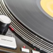 Turntable rotates — Stock Photo