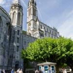 Постер, плакат: The Basilica of Lourdes