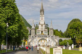 The Basilica of our Lady, Lourdes — Stock Photo