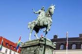 Memorial to King Karl IX — Stock Photo