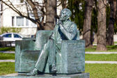 Statue to Jan Karski — Stock Photo