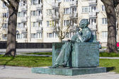 Monument to Jan Karski in Warsaw — Stock Photo