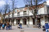 Bazar Polski historic building at Krupowki  — Stock Photo