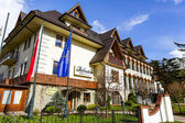 Belvedere Hotel in Zakopane  — Stock Photo