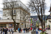 Building of Polish Post Office in Zakopane — Stock Photo