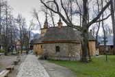 Chapel Gasienicow in Zakopane — Stock Photo