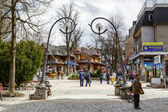 Krupowki main street in Zakopane — Stock Photo