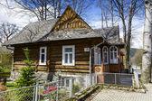 Made of wood villa Maciejowka in Zakopane — Stock Photo