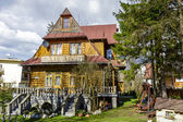 Made of wood Villa Stylowa in Zakopane — Stock Photo