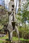 Syn nieba, sculpture in Zakopane — Stock Photo