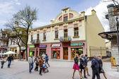 Townhouse called Dom Mangla in Zakopane — Stock Photo
