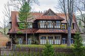 Wooden Dwelling House built about 1898 in Zakopane — Stock Photo