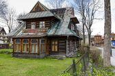 Wooden Dwelling House built about 1905 in Zakopane — Stock Photo