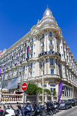 InterContinental Carlton Cannes Hotel in Cannes — Stock Photo