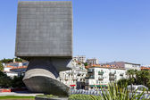 La Tete Carree sculpture in Nice, France — Stock Photo