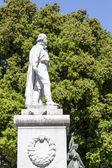 ニースのジュゼッペ · ガリバルディの記念碑 — ストック写真