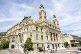 Opera House in Monte Carlo, Monaco — Stock Photo