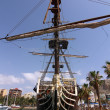 Historic and famous Spanish galleon Santisima Trinidad — Stok fotoğraf
