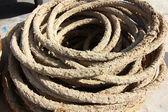 Old fishing ropes — Stock Photo