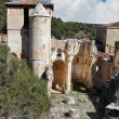 Stock Photo: Ruins of Church of SPedro de Arlanzin province of B