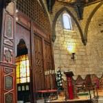 "Wood interior church in ""Buitrago de Lozoya"" spain — Stock Photo #13510109"