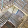 Detail staircase destroyed house — Stock Photo #13510200