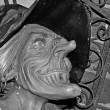 Halloween hideous witch - Stockfoto