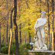 Monument in the gardens of Aranjuez Royal Palace - Stock Photo