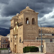 Stock Photo: Church in province of Burgos Spain
