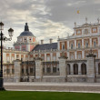 The Palace of Aranjuez, main facade, Madrid, Spain - Stock Photo
