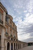 Hallway in Royal Palace of Aranjuez (Spain) — Stock Photo