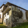 Stock Photo: Old house with facade full of moisture