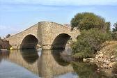 "Bridge ""La Risa"" in the channel of La Manga, Spain — Stock Photo"