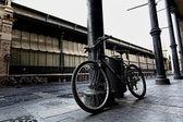 Columnas, hierro, antigua, antigua, rueda, dramática — Foto de Stock