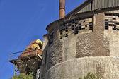 старый завод здание углерода — Стоковое фото