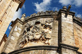 Detail of the famous church of Burgo de Osma in Spain — Stock Photo