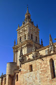 View of the famous church of Burgo de Osma in Spain — Stock Photo