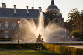 Ornamental fountains of the Palace of Aranjuez, Spain — Stock Photo