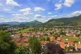 Famosa ciudad turistica de los pirineos, saint jean pied de port — Foto Stock