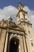 Cathedral Basilica of Nuestra Senora del Pilar, built in the ye — Stockfoto
