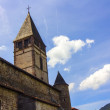 Stock Photo: Typical church of small towns of southern France