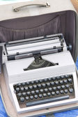 Old typewriter from collection — Stock Photo