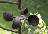 Rusty old anemometer — Stock Photo