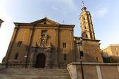 Church of San Juan de los panetes, Zaragoza, Spain — Stock Photo