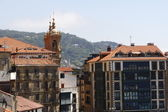 Houses in the city of San Sebastian, Spain — Stock Photo