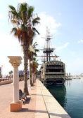 在阿利坎特市西班牙美丽海滨长廊 — 图库照片