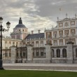 Stock Photo: The Palace of Aranjuez, main facade, Madrid, Spain